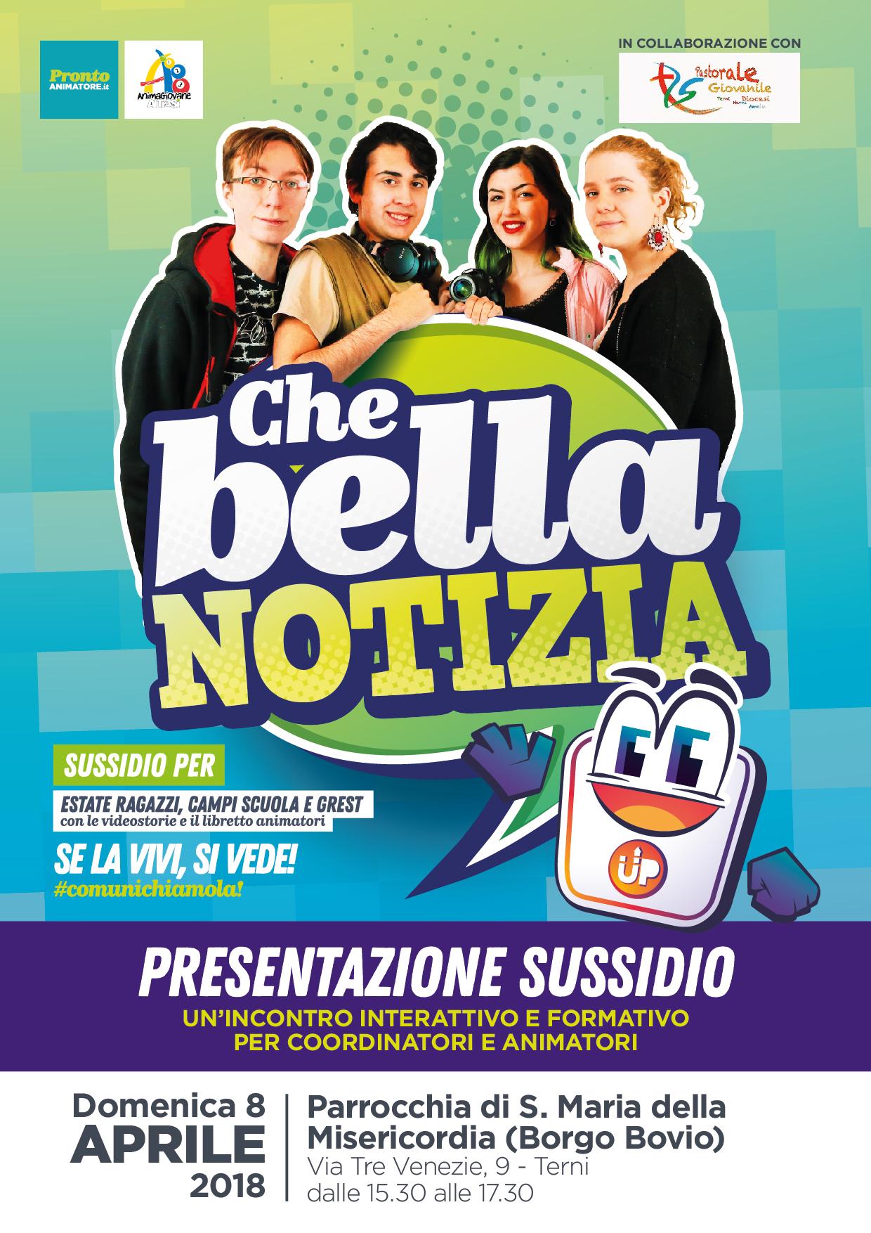 Presentazione Grest 2018 CHE BELLA NOTIZIA