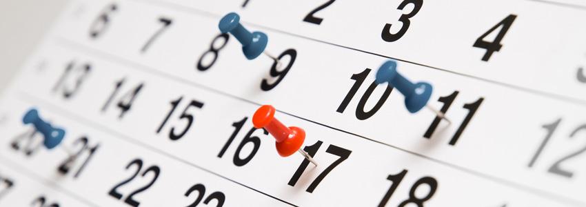 Appuntamenti di ottobre 2020