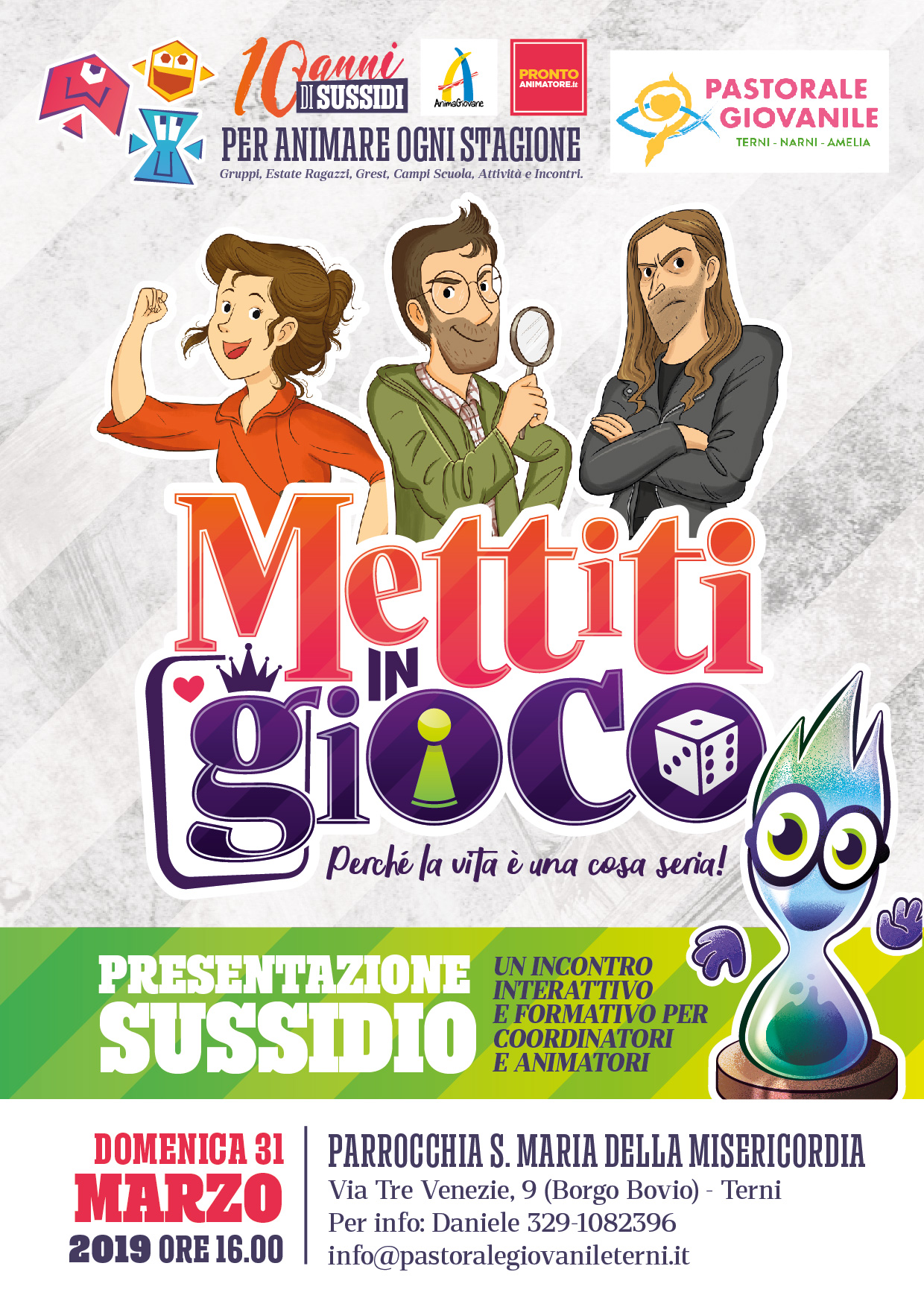 """Presentazione del sussidio estivo 2019 """"Mettiti in gioco"""""""